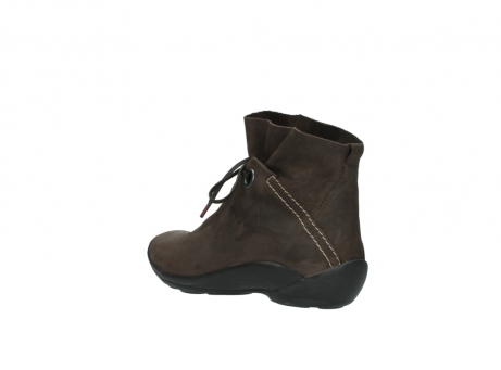 wolky bottines a lacets 01657 diana 50300 cuir marron_4