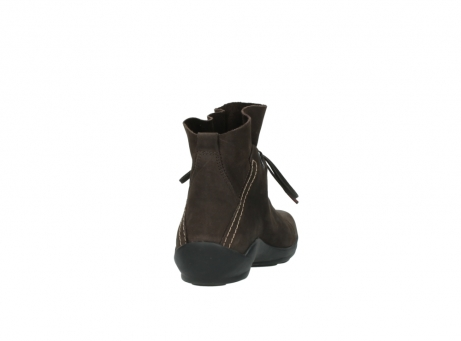 wolky bottines a lacets 01657 diana 50300 cuir marron_8