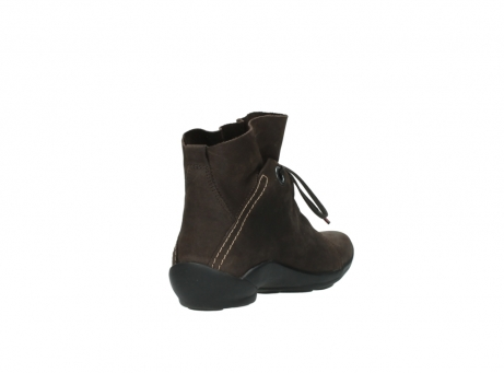 wolky bottines a lacets 01657 diana 50300 cuir marron_9