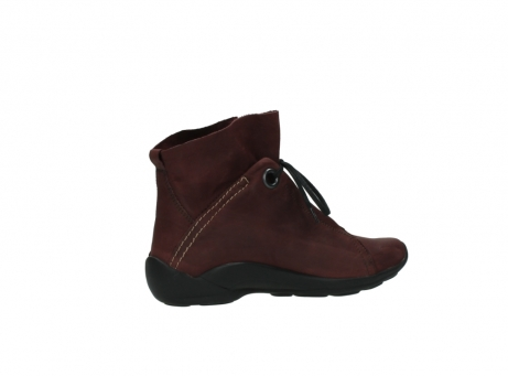 wolky lace up boots 01657 diana 50510 burgundy oiled leather_11