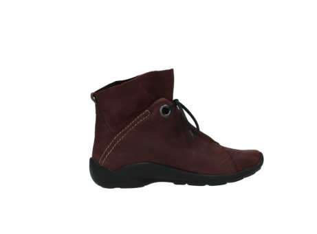 wolky lace up boots 01657 diana 50510 burgundy oiled leather_12