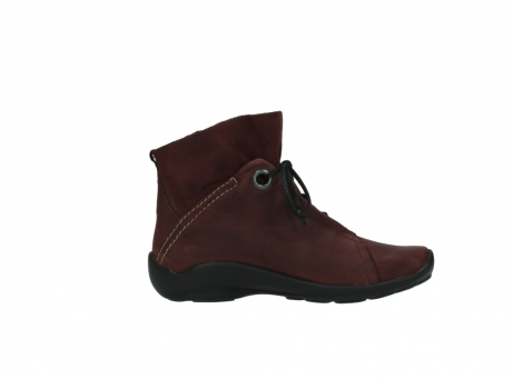 wolky lace up boots 01657 diana 50510 burgundy oiled leather_13