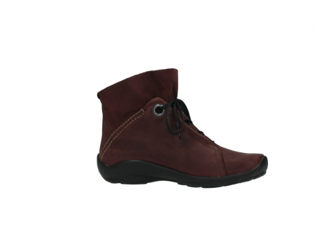 wolky lace up boots 01657 diana 50510 burgundy oiled leather_14