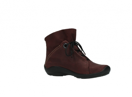wolky lace up boots 01657 diana 50510 burgundy oiled leather_15