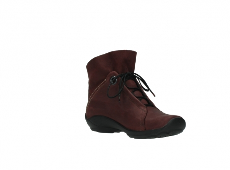 wolky lace up boots 01657 diana 50510 burgundy oiled leather_16