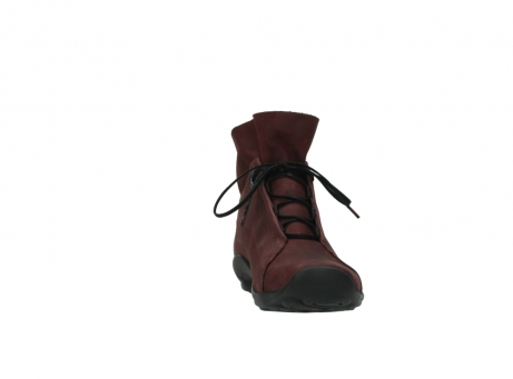 wolky lace up boots 01657 diana 50510 burgundy oiled leather_18