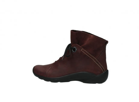 wolky lace up boots 01657 diana 50510 burgundy oiled leather_2