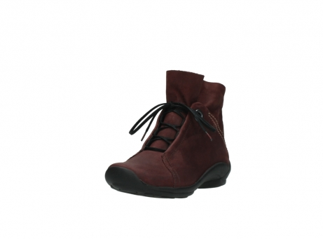wolky lace up boots 01657 diana 50510 burgundy oiled leather_21