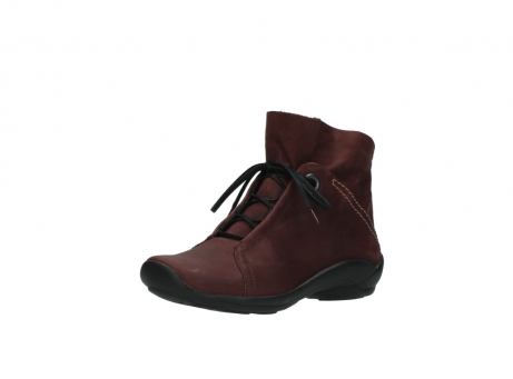 wolky lace up boots 01657 diana 50510 burgundy oiled leather_22
