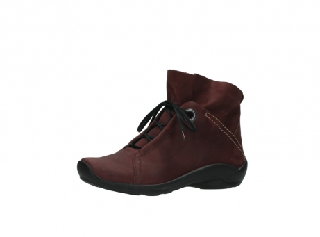 wolky lace up boots 01657 diana 50510 burgundy oiled leather_23