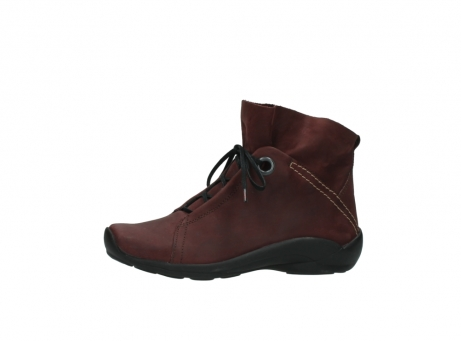 wolky lace up boots 01657 diana 50510 burgundy oiled leather_24