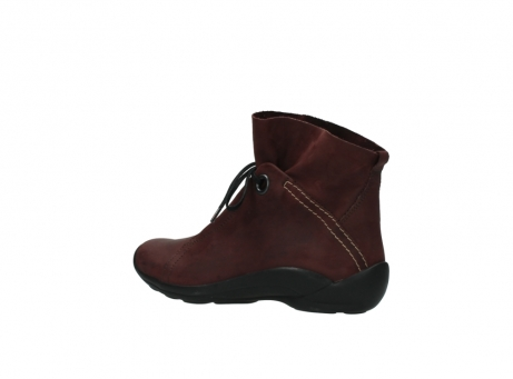 wolky lace up boots 01657 diana 50510 burgundy oiled leather_3