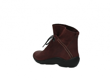 wolky lace up boots 01657 diana 50510 burgundy oiled leather_4