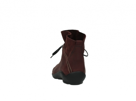 wolky lace up boots 01657 diana 50510 burgundy oiled leather_6