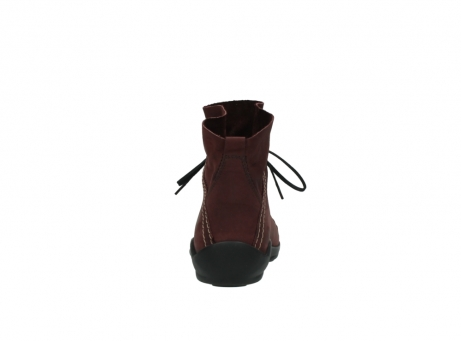 wolky lace up boots 01657 diana 50510 burgundy oiled leather_7