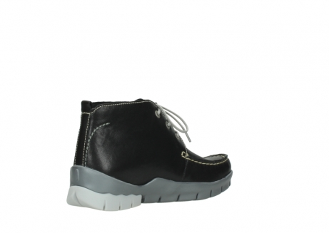 wolky lace up boots 01751 misty 70070 black leather_10