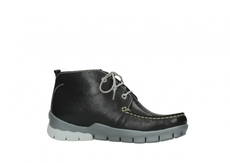 wolky lace up boots 01751 misty 70070 black leather_14
