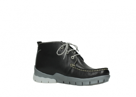 wolky lace up boots 01751 misty 70070 black leather_15