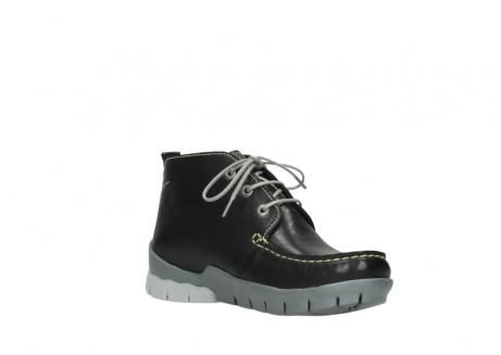 wolky lace up boots 01751 misty 70070 black leather_16