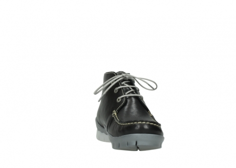wolky lace up boots 01751 misty 70070 black leather_18