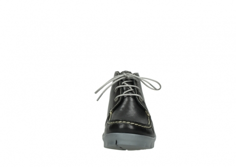wolky lace up boots 01751 misty 70070 black leather_19