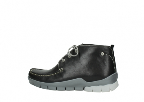 wolky lace up boots 01751 misty 70070 black leather_2