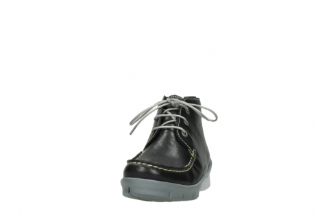 wolky lace up boots 01751 misty 70070 black leather_20