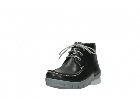 wolky lace up boots 01751 misty 70070 black leather_21