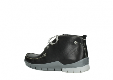 wolky lace up boots 01751 misty 70070 black leather_3