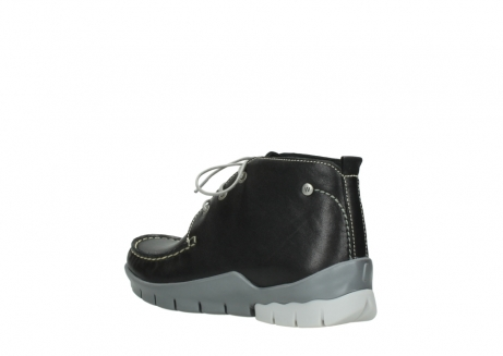 wolky lace up boots 01751 misty 70070 black leather_4