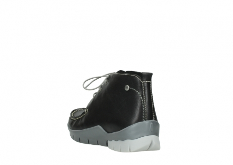 wolky lace up boots 01751 misty 70070 black leather_5