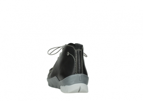 wolky lace up boots 01751 misty 70070 black leather_6