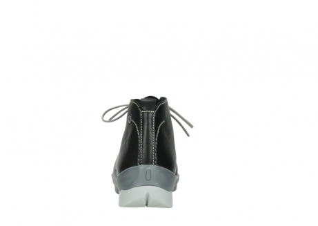 wolky lace up boots 01751 misty 70070 black leather_7