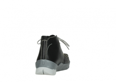 wolky lace up boots 01751 misty 70070 black leather_8