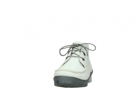 wolky lace up boots 01751 misty 70100 white leather_20