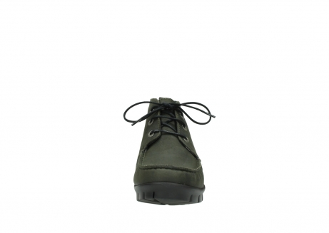 wolky lace up boots 01753 misty cw 11732 forestgreen oiled nubuck_19