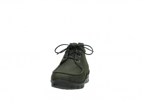 wolky lace up boots 01753 misty cw 11732 forestgreen oiled nubuck_20