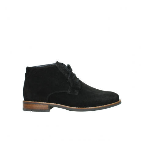 wolky boots 02181 montevideo 40000 schwarz geoltes suede