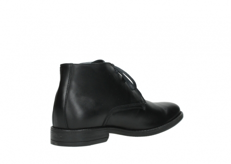 wolky lace up boots 02181 montevideo 31000 black leather_10