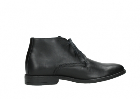 wolky lace up boots 02181 montevideo 31000 black leather_12