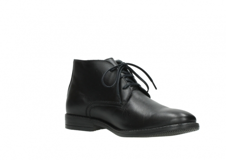 wolky lace up boots 02181 montevideo 31000 black leather_16