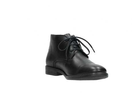 wolky lace up boots 02181 montevideo 31000 black leather_17