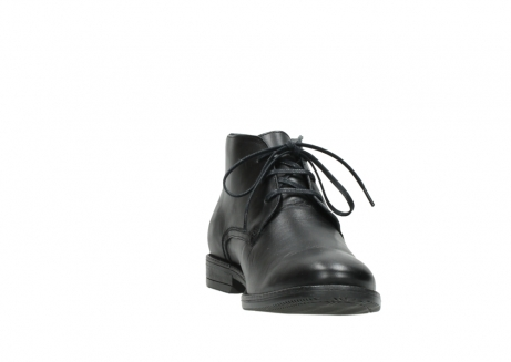 wolky lace up boots 02181 montevideo 31000 black leather_18