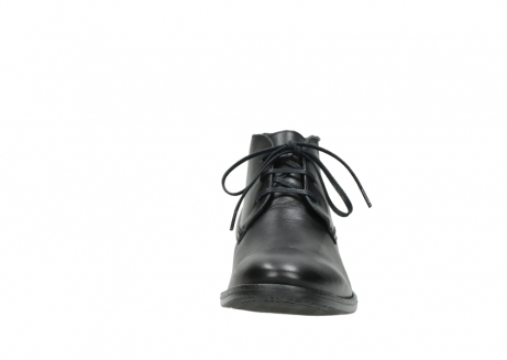 wolky lace up boots 02181 montevideo 31000 black leather_19