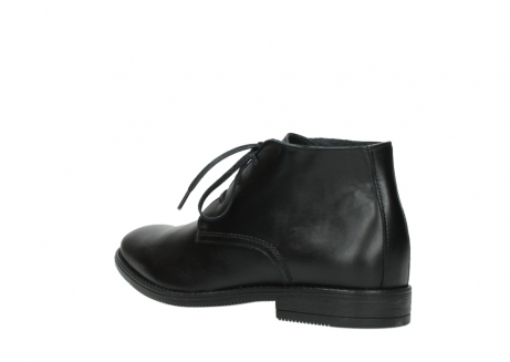 wolky lace up boots 02181 montevideo 31000 black leather_4