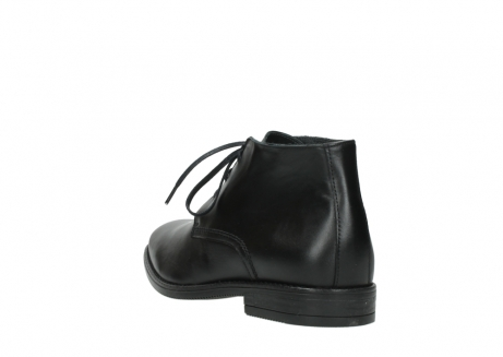 wolky lace up boots 02181 montevideo 31000 black leather_5