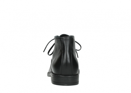 wolky lace up boots 02181 montevideo 31000 black leather_7