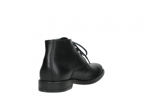 wolky lace up boots 02181 montevideo 31000 black leather_9