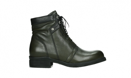 wolky lace up boots 02625 center 20730 forestgreen leather_1