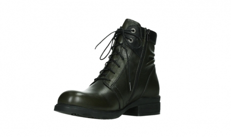 wolky lace up boots 02625 center 20730 forestgreen leather_10